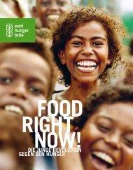FOOD RIGHT NOW - Magazin (PDF) - Welthungerhilfe