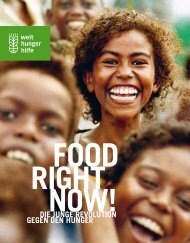 FOOD RIGHT NOW - Magazin (PDF) - Welthungerhilfe