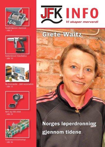 Grete Waitz - Sivilingeniør JF Knudtzen AS