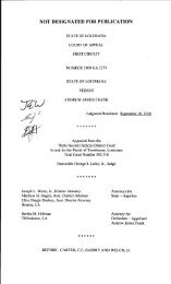 Appellant - Louisiana Court of Appeal, First Circuit