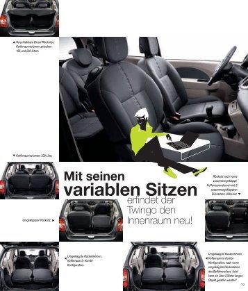 Praktischer - bei Renault Liesing!