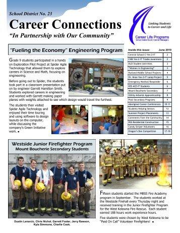 2010 June News.pdf - Central Okanagan School District No. 23
