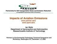 Ian Waitz Department of Aeronautics and ... - SERDP-ESTCP