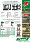 Seedbed combinations with exact depth guidance care for ... - Regent - Page 4