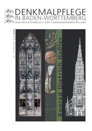 DENKMALPFLEGE - Holzmanufaktur Rottweil