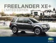 LanD roVEr FrEELanDEr XE+
