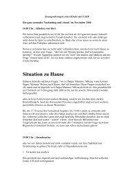 Situation zu Hause - FASD - Deutschland eV