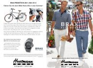 BRAX-PROMOTION AM 3. MAI 2012 - Huesmann Mode