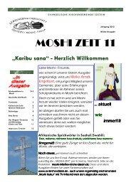 MOSHI ZEIT 11 - Evangelische Kirchengemeinde Idstein