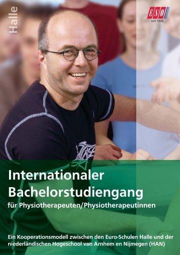 Internationaler Bachelorstudiengang - ESO