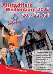 Altstadtfest 2012 - Stadt Weißenburg