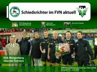 FVN aktuell Juni 2012 - Schiedsrichtervereinigung ...