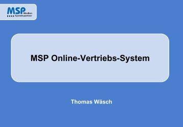 Titel einzeilig - MSP Medien Systempartner