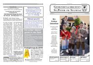 Frühjahrsputz 2010 - St. Peter im Sulmtal