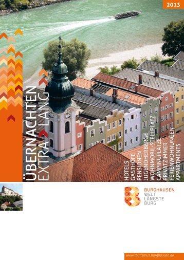 Unterkunft - Burghausen - Stadt Burghausen