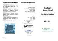 Business -Englisch 03-2012 - ESO