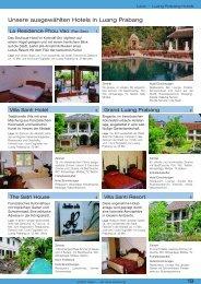 19 Unsere ausgewählten Hotels in Luang Prabang - Norbinh Reisen