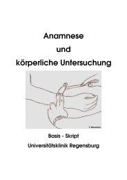Anamnese und körperliche Untersuchung Basis - Skript