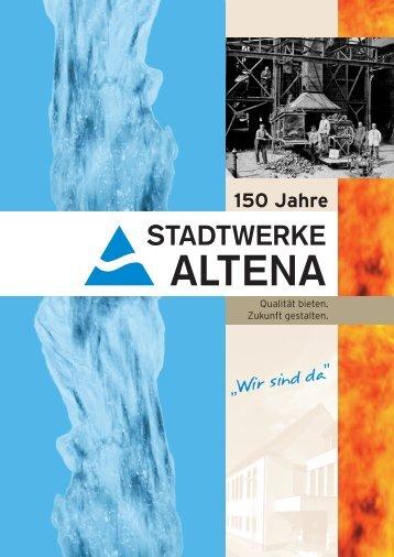 """Download der Broschüre \""""150 Jahre Stadtwerke Altena\"""""""