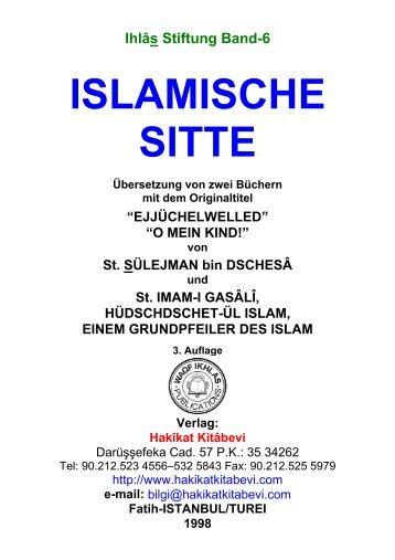 ISLAMISCHE SITTE - Hakikat Kitabevi