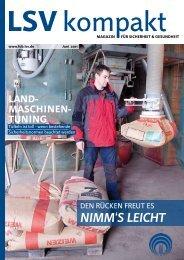 LSV kompakt Juni 2011 (Franken und Oberbayern)