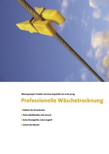 Professionelle Wäschetrocknung - Safe