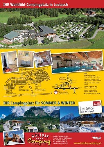 IHR Campingplatz für SOMMER & WINTER - Holiday Camping