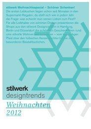 PDF, 3.9 MB - Stilwerk
