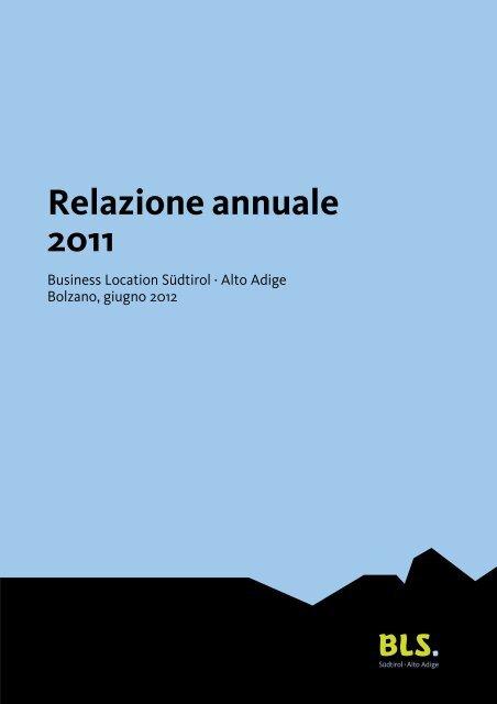 Relazione annuale 2011 - BLS