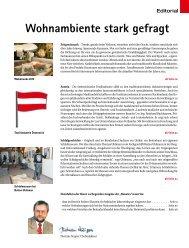 Wohnambiente stark gefragt - beim SN-Fachpresse Verlag