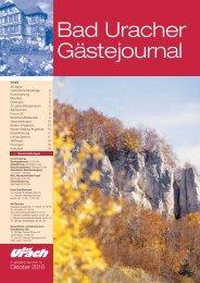 Gaestejournal Oktober 2010 - Bad Urach