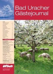 April 2009 (PDF) - Bad Urach
