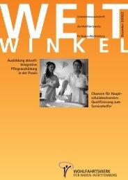 Download PDF 02/2009 - Wohlfahrtswerk für Baden-Württemberg