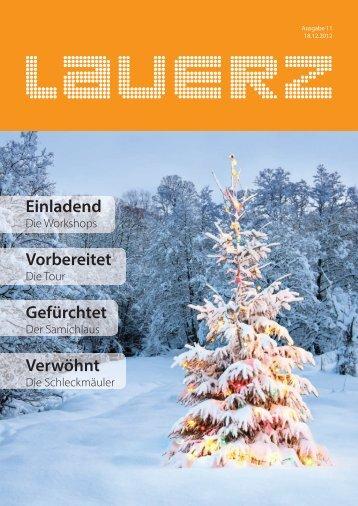 Aktuelle Ausgabe - Gemeinde Lauerz