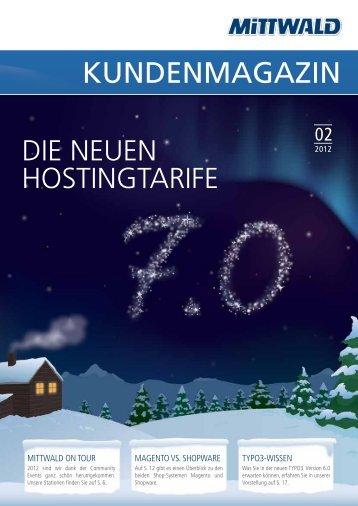 PDF der Ausgabe 2/12 - Mittwald CM Service GmbH & Co. KG
