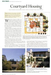 Courtyard Housing - Moule & Polyzoides