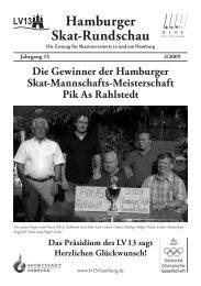 Hamburger Skatrundschau 3. Ausgabe 2009 - VG 21 - Hamburg
