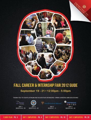 University of Maryland's Fall Career & Internship Fair - COLLEGE ...