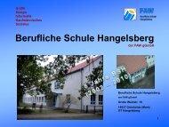 Berufliche Schule Hangelsberg - FAW gGmbH