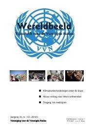 editie 2010/1 - Vereniging voor Verenigde Naties
