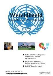 Wereldbeeld 2011-02 - Vereniging voor Verenigde Naties