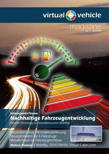 magazine - Virtual Vehicle