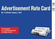 Advertisement Rate Card Advertisement Rate Card - FAZ.net