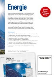 Inklusive Special zur Hannover Messe  - FAZ.net