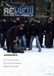 Review Frühjahr 2010 - Alternative Dresden News
