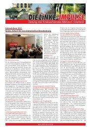 Impulse November 2011.indd - DIE LINKE. Märkisch-Oderland