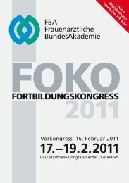 Programm 2011 - FBA
