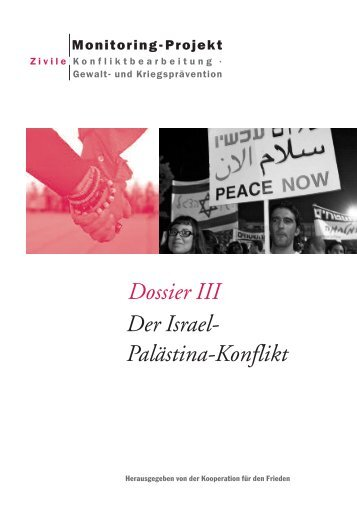 Dossier III Der Israel- Palästina-Konflikt - Netzwerk ...