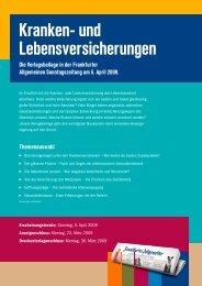 Kranken- und Lebensversicherungen - FAZ.net