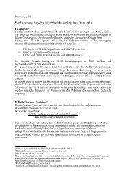 Neue Literatur zur Rechtsinformatik - Rida